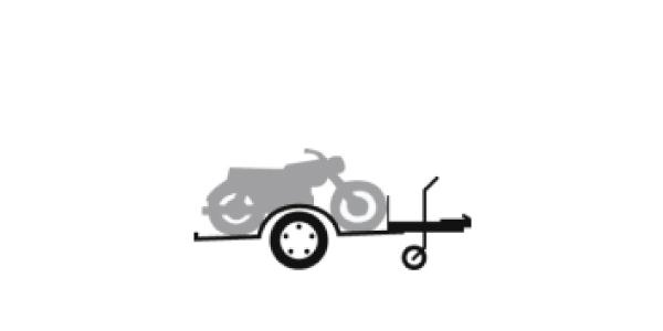 Remorque porte moto